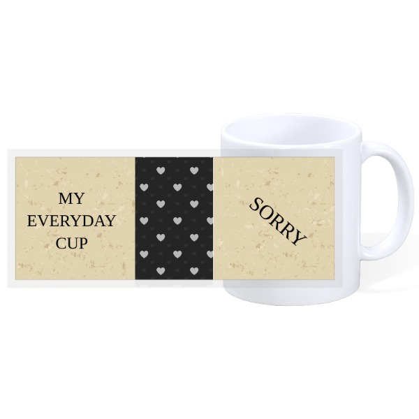 MY EVERYDAY CUP - 11oz Ceramic Mug