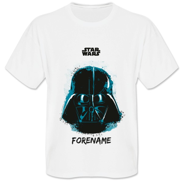 Star Wars Darth Vader Paint  Mens T-Shirt