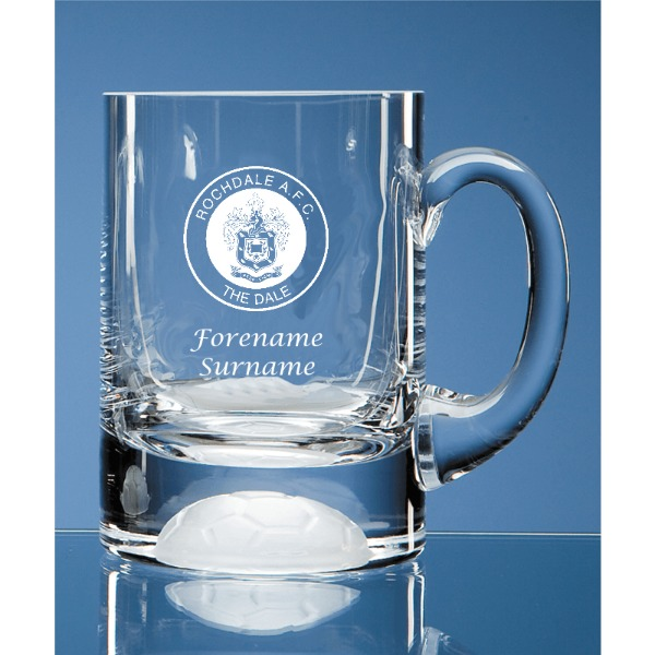 Rochdale FC Ball Base Tankard