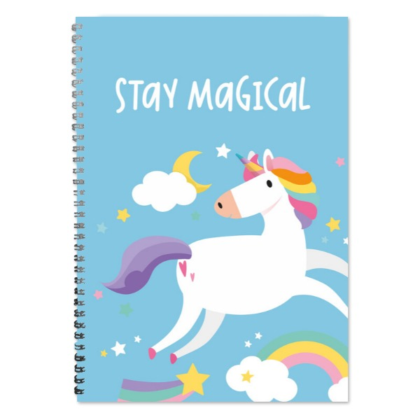 Unicorn A4 Lined Notepad