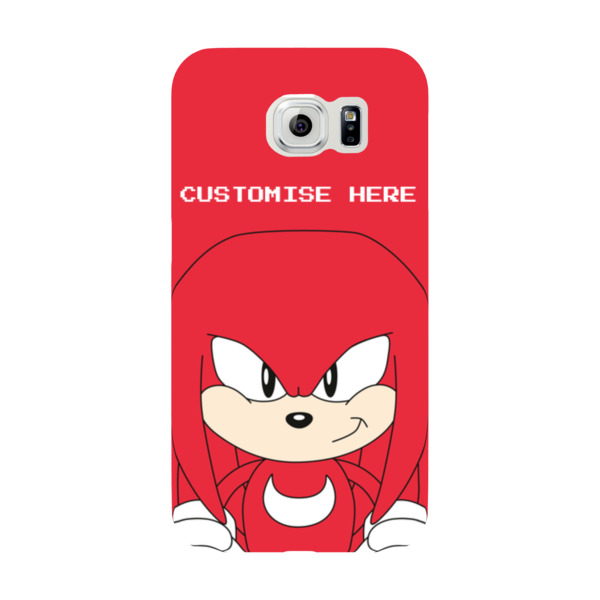 Samsung Galaxy S6 Phone Case - Knuckles Face - Classic Sonic