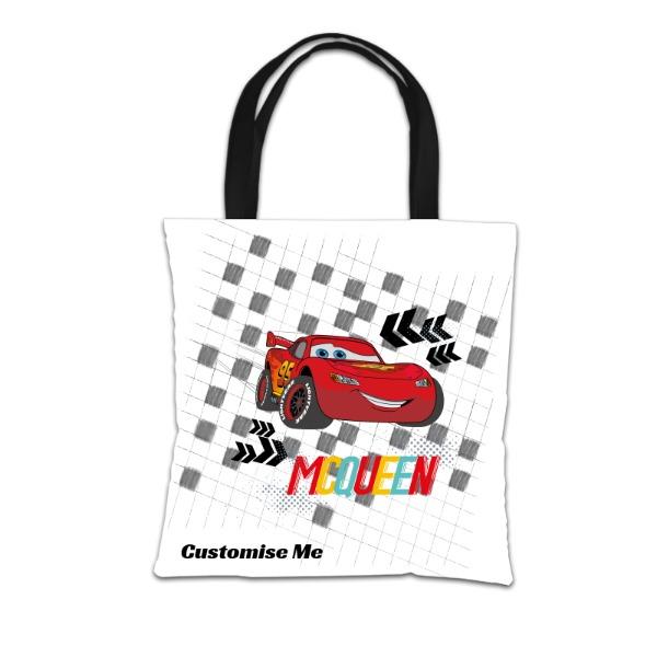 Disney Cars Group Scene Tote Bag