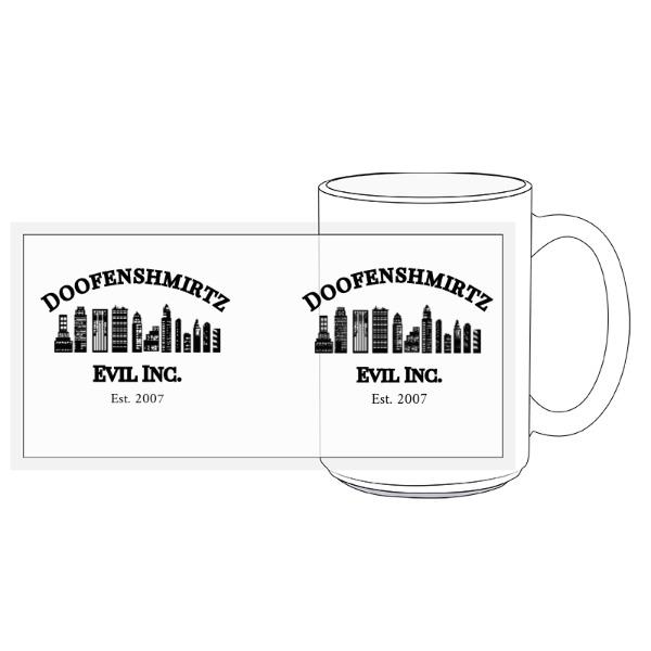 Doofenshmirtz Mug - 15oz Ceramic Mug