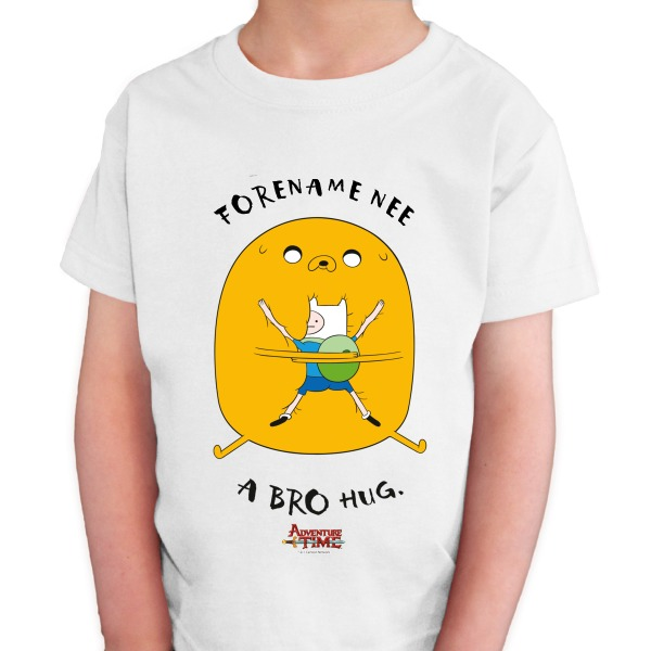 Adventure Time Bro Hug Kids T-shirt