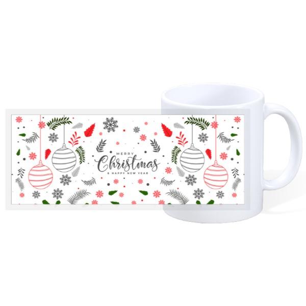 Merry Christmas - 11oz Ceramic Mug