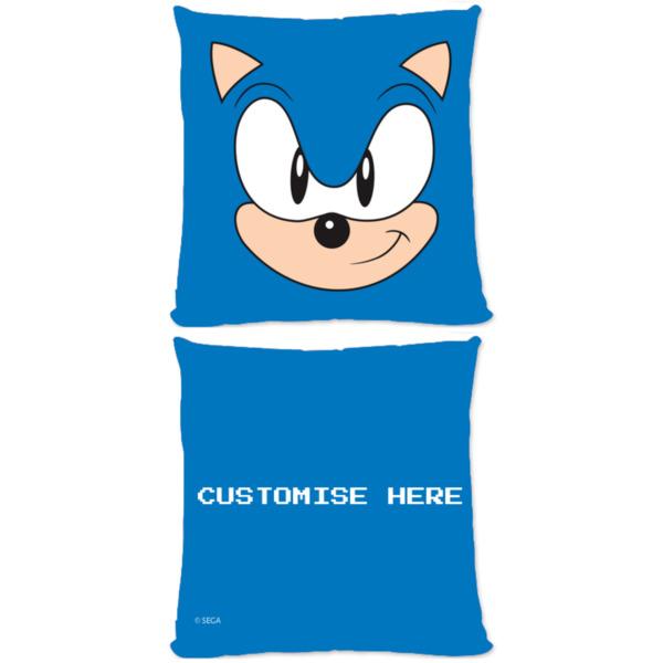 Microfibre Cushion - Sonic Face - Classic Sonic