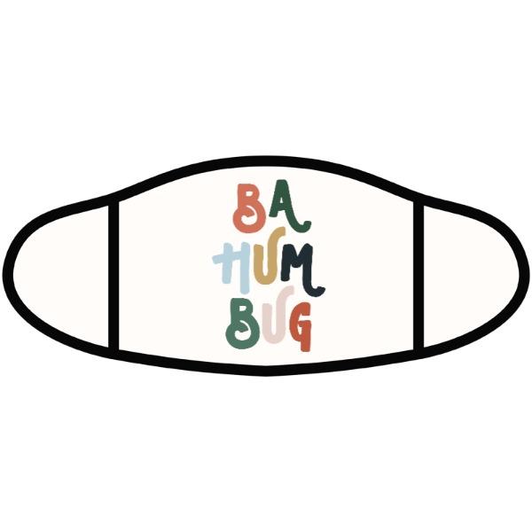 Ba Hum Bug - Face Mask - Small