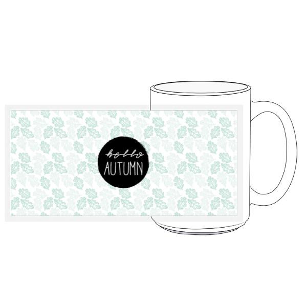 Hello Autumn Mug - 15oz Ceramic Mug