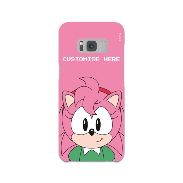 Samsung Galaxy S8 Phone Case - Amy Face - Classic Sonic