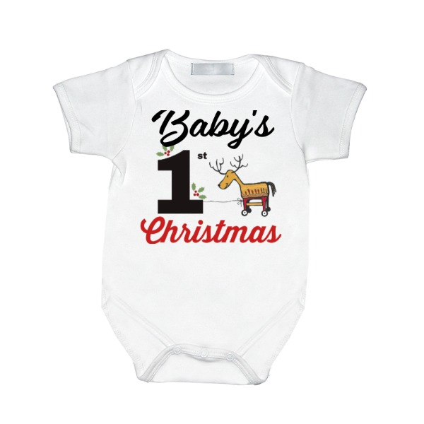 Baby's First Christmas - Baby One Piece