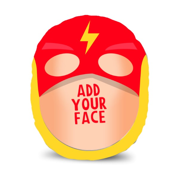 Superhero! - Red - Upload Your Mush! - Mush Cush!