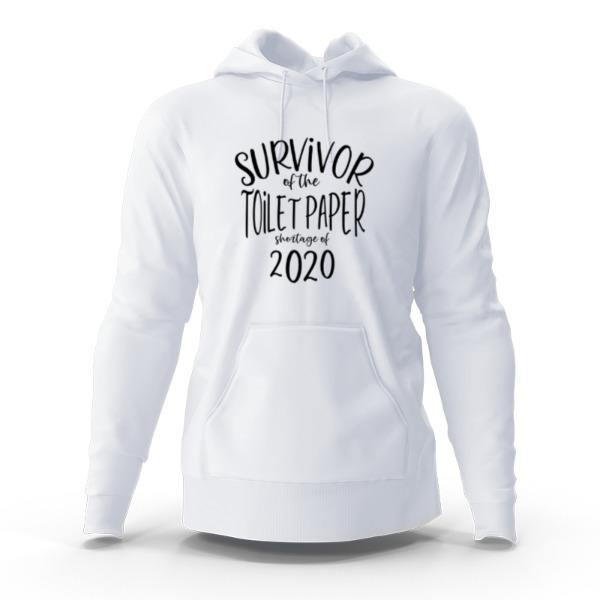 Toilet Paper Survivor Hoody - Hoody Sweatshirt