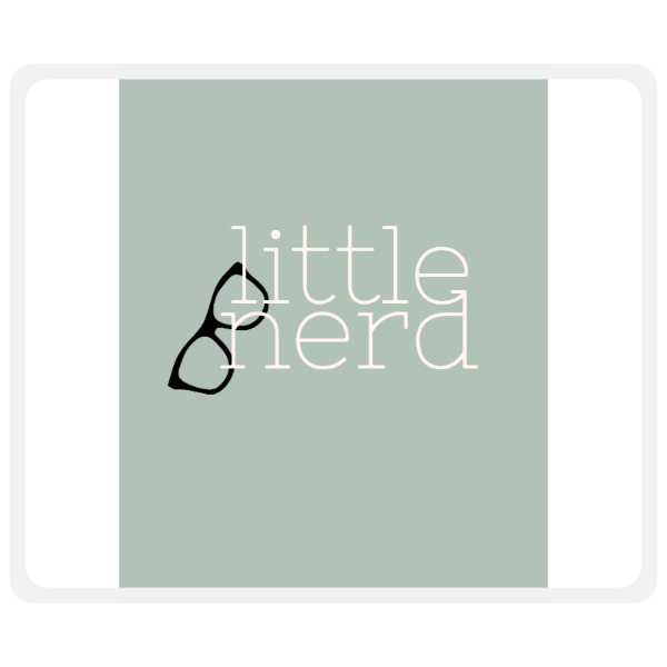 Little Nerd Mousepad  - Mousepad