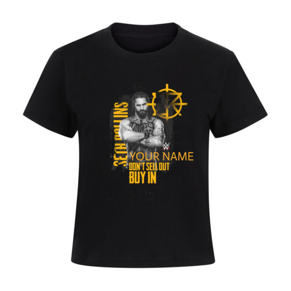 WWE Seth Rollins Personalised Kids T-shirt - The Architect
