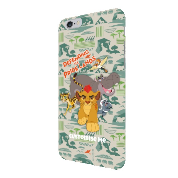 Disney The Lion Guard Group Defending The Pride Lands iPhone 6+/6s+ Clip Case