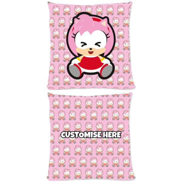 Microfibre Cushion - Emoji Amy - Modern Sonic