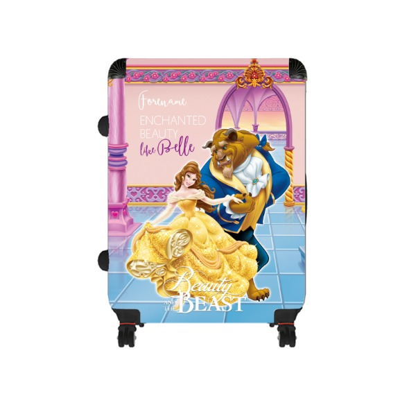 Disney Beauty and The Beast Dance Large Suitcase