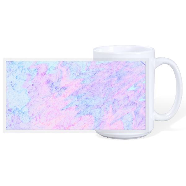 Bright watercolor mug - 15oz Ceramic Mug