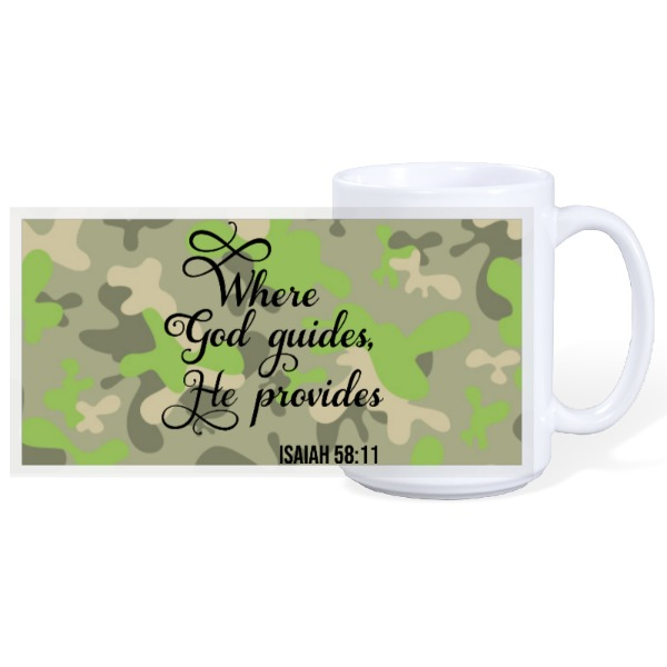 WHERE GOD  - 15oz Ceramic Mug