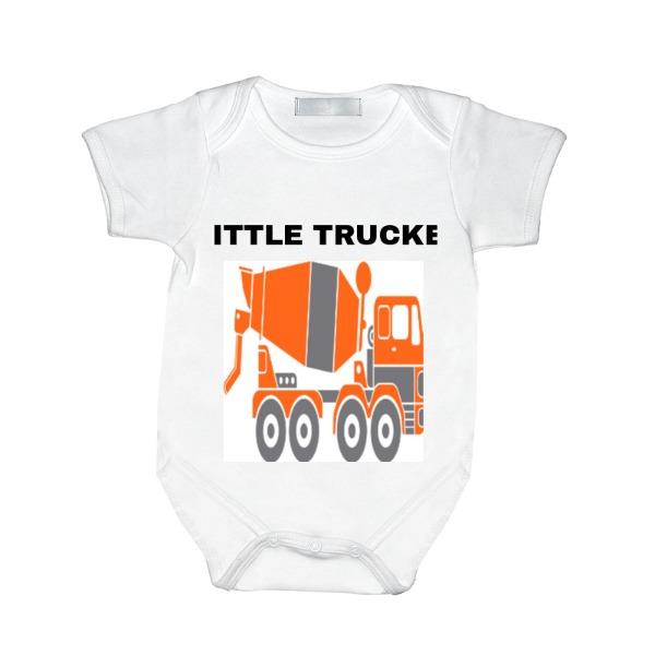 LITTLE TRUCKER - Baby One Piece