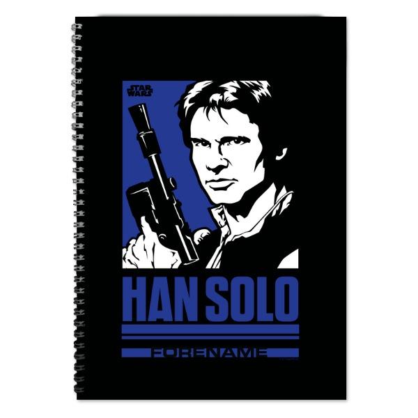Star Wars Han Solo Pop Art A4 Notebook