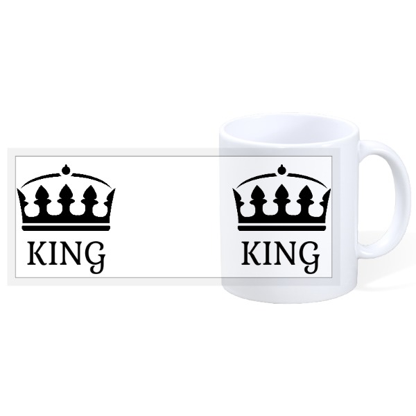 King - Mr & Mrs 4 - Mr & Mrs 3 - 11oz Ceramic Mug