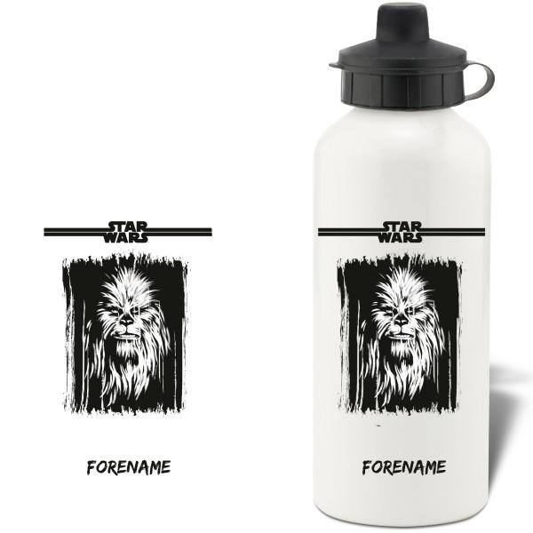 Star Wars Chewbacca Paint Aluminium Water Bottle