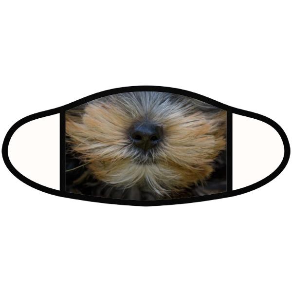 Puppy Yorky mask - Face Mask- Large
