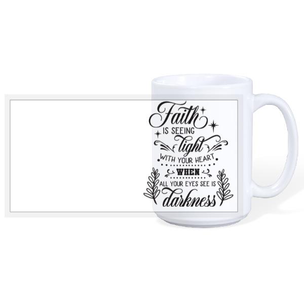 Faith - 15oz Ceramic Mug