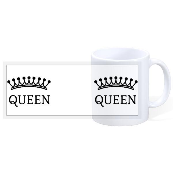Queen - Mr & Mrs 4 - Mr & Mrs 3 - 11oz Ceramic Mug