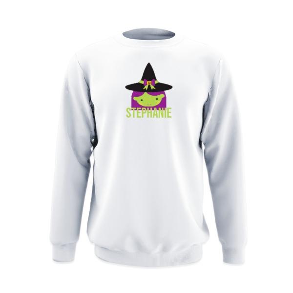 Crew Sweatshirt Small Print Area