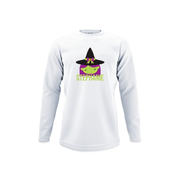 Youth Solar Long Sleeve Small Print Area