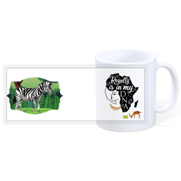 Royalty is in my DNA 11oz Ceramic Mug - 11oz Ceramic Mug
