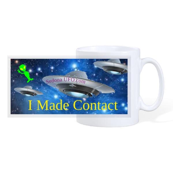 contact - 10oz Ceramic Mug
