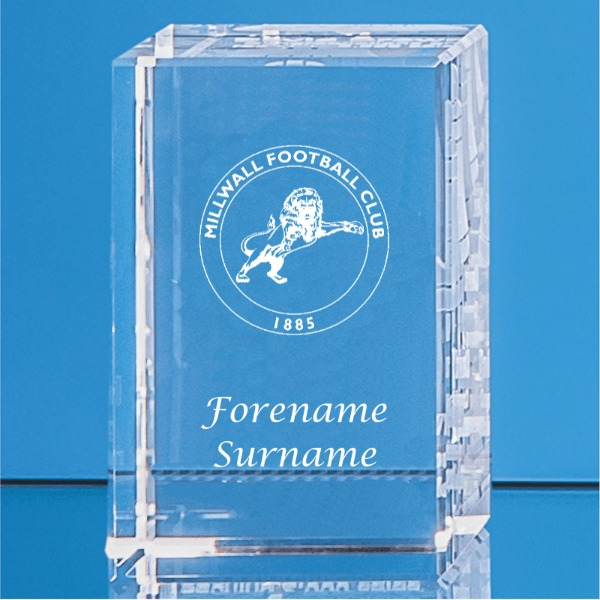 Millwall FC Crystal Rectangle