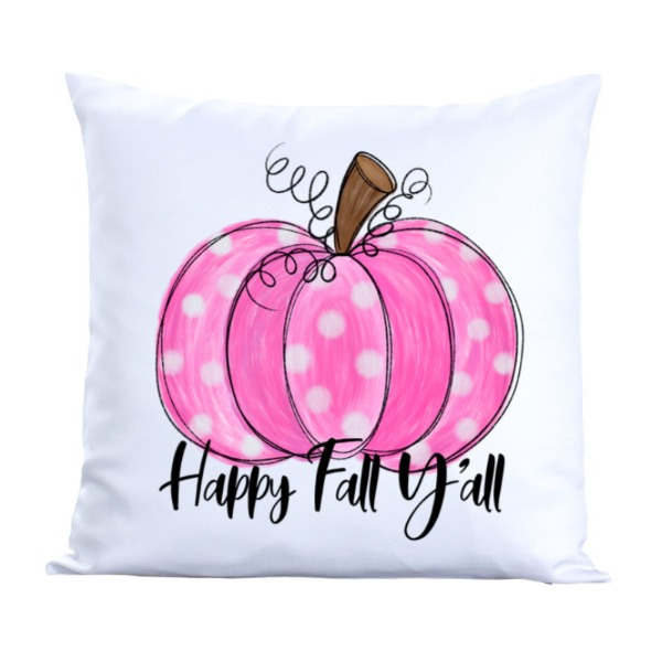 Happ fall yall - Pillow