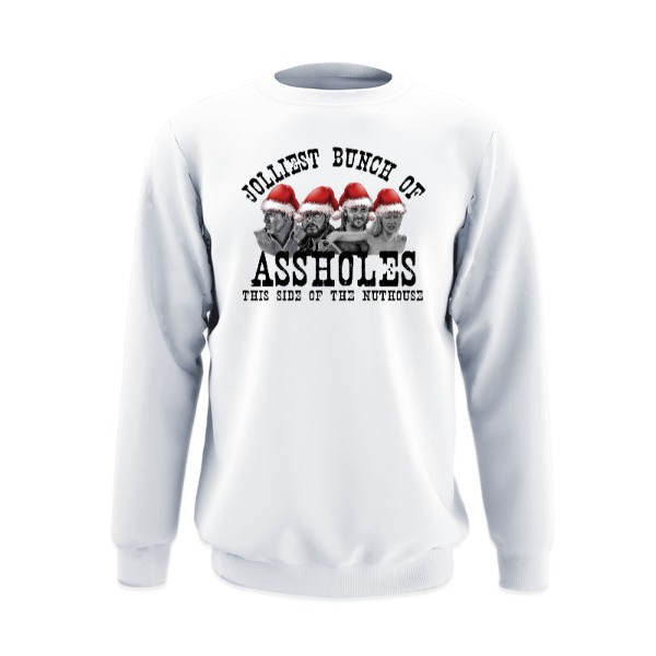 Jolliest Bunch - Crew Sweatshirt Large Print Area