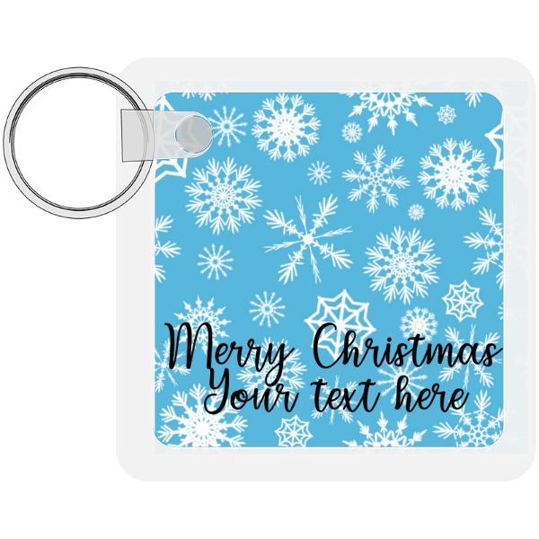 Christmas - Square Keychain