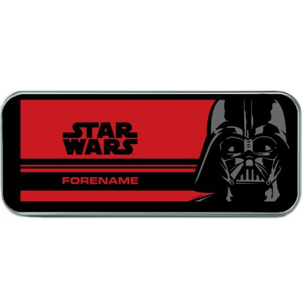 Star Wars Darth Vader Pop Art Silver Pencil Tin