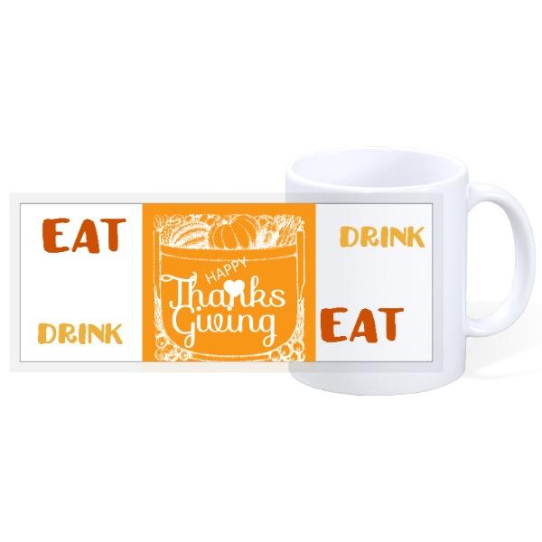 HAPPY THANKSGIVING - 11oz Ceramic Mug