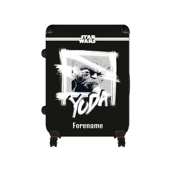 Star Wars Yoda Paint Large Suitcase