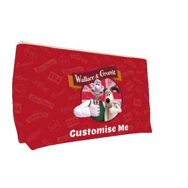 Aardman Wallace And Gromit Thumbs Up Medium Wash Bag