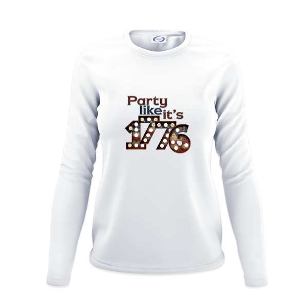Party 1776 - Ladies Solar Long Sleeve
