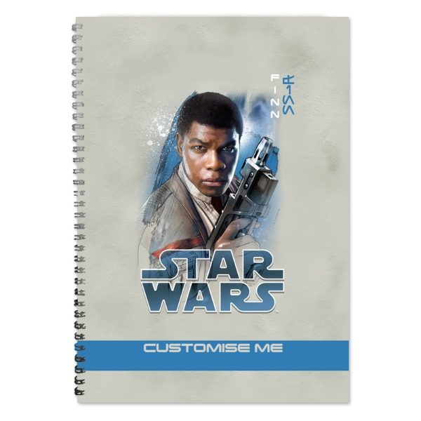 Star Wars Finn Last Jedi Spray Paint A4 Notebook