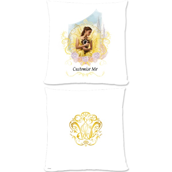 Disney Beauty and the Beast Belle 'Mirror' Large Fiber Cushion
