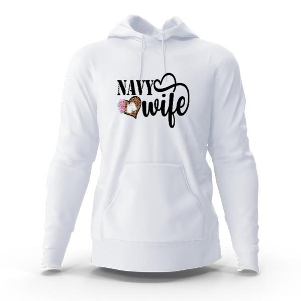 Navy Wife - Hoody Sweatshirt