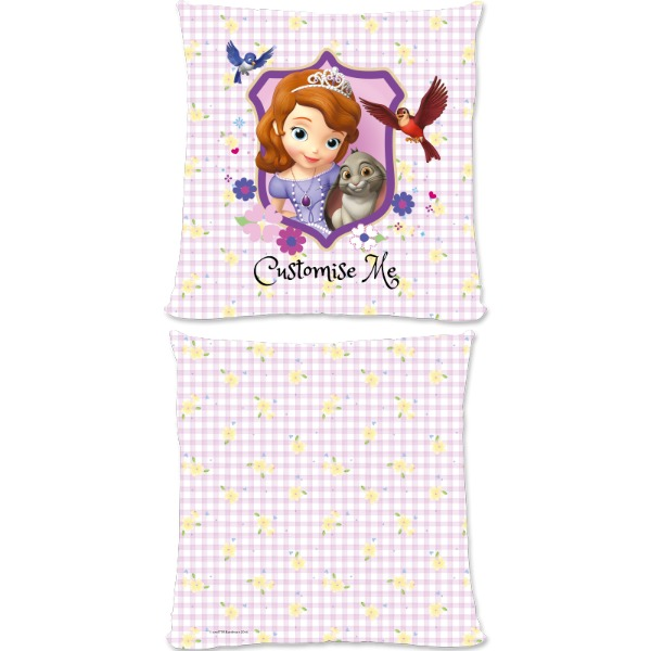 Disney Sofia The First Sofia And Clover Large Fiber Cushion