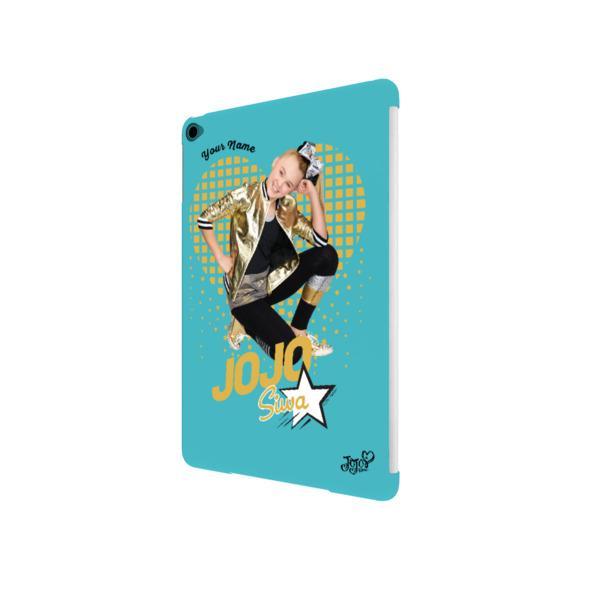 JoJo Siwa Personalised iPad Air 2 Case - Heart of Gold