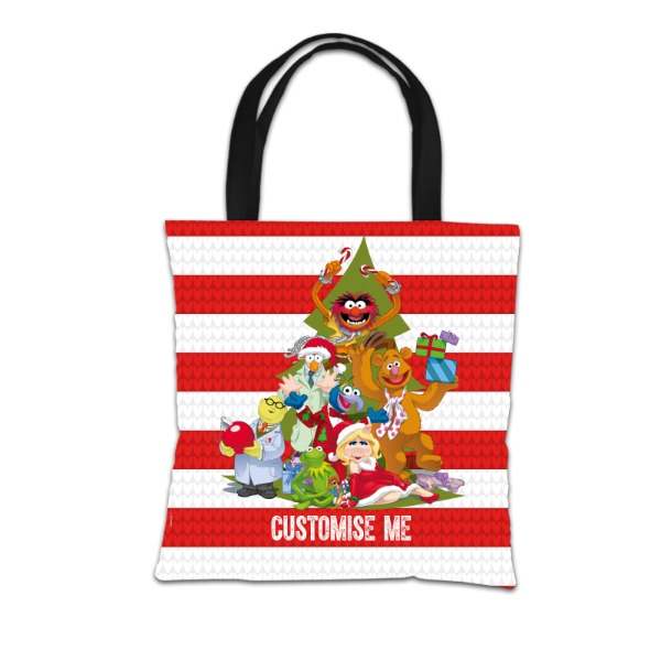 Disney The Muppets Christmas Group Tote Bag