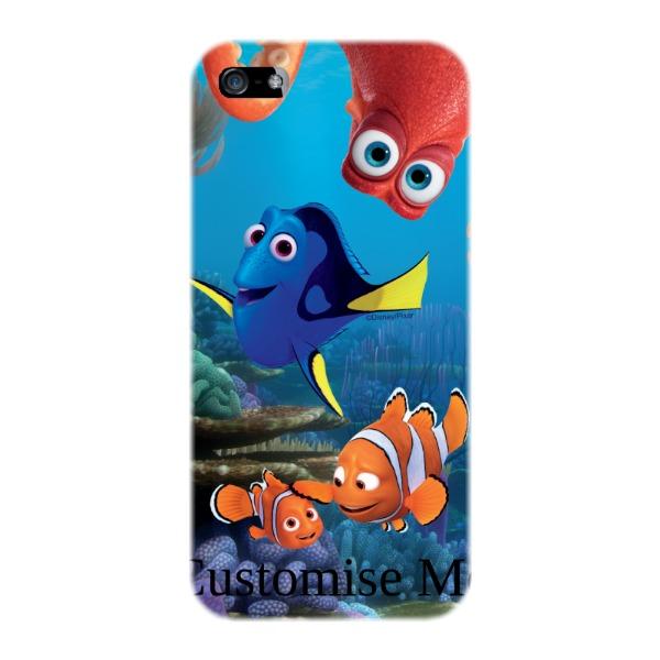 Disney Finding Dory Group Scene iPhone 5/5s/5SE Clip Case
